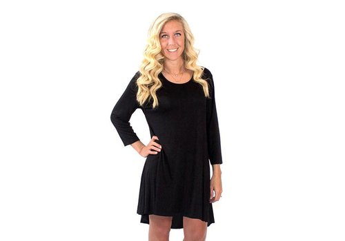 Simply Southern Simply Southern Tunic Black