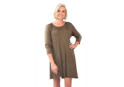 Simply Southern Simply Southern Tunic Olive