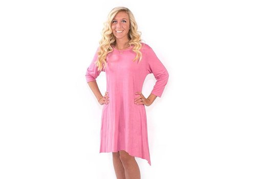 Simply Southern Simply Southern Tunic Pink