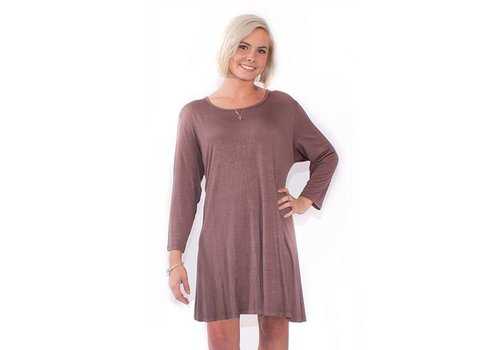 Simply Southern Simply Southern Tunic Mocha
