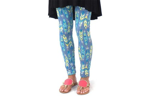 Simply Southern Simply Southern Leggings Feather
