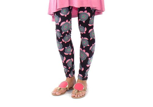 Simply Southern Simply Southern Leggings Turtle