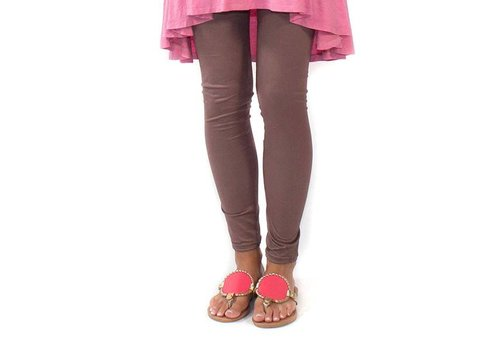 Simply Southern Simply Southern Leggings Taupe PLUS