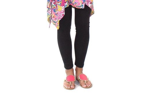 Simply Southern Simply Southern Leggings Black PLUS