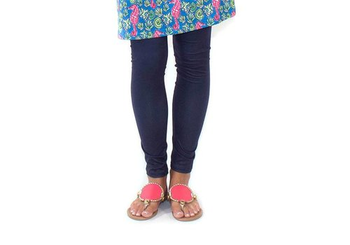 Simply Southern Simply Southern Leggings Navy PLUS