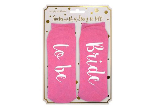 Simply Southern Simply Southern Bride to Be Socks