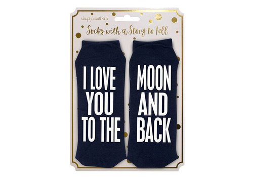 Simply Southern Simply Southern Moon and Back Socks