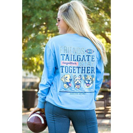 Friends Who Tailgate Together Stay Together Periwinkle