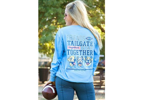 Jadelynn Brooke Jadelynn Brooke Friends Who Tailgate Together Stay Together Periwinkle