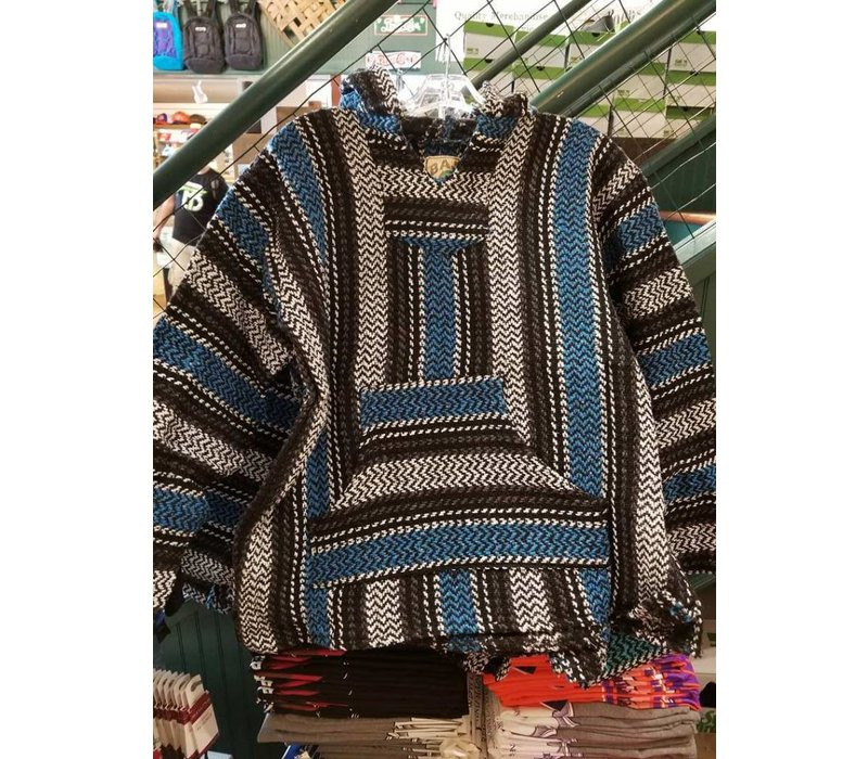 Baja Pullover Blue