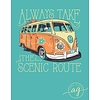 Anna Grace Anna Grace Take the Scenic Route Chalky Mint