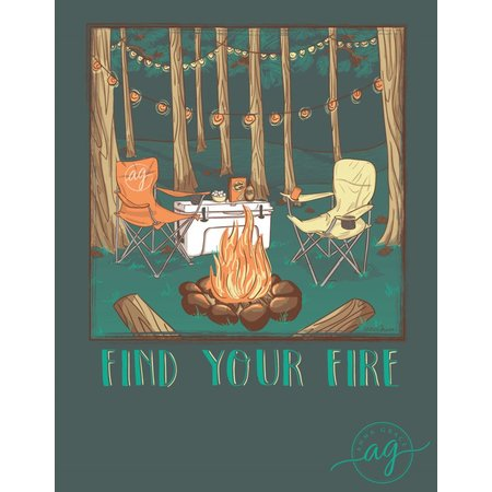 Anna Grace Find Your Fire Blue Spruce