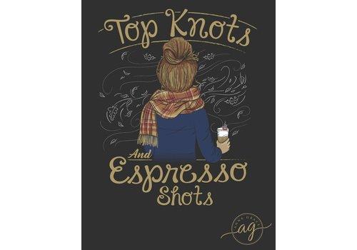 Anna Grace Anna Grace Knots & Expresso Shots Graphite