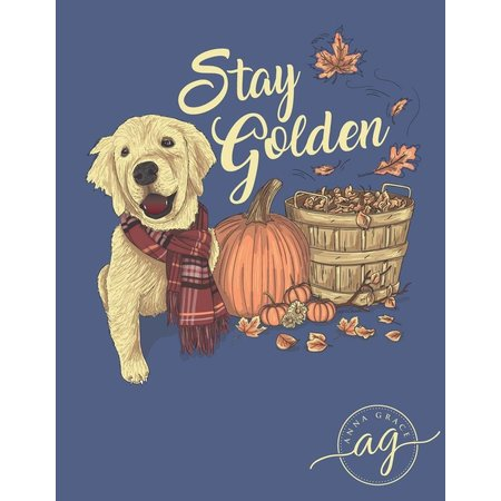 Stay Golden Blue Jean Long Sleeve T-Shirt
