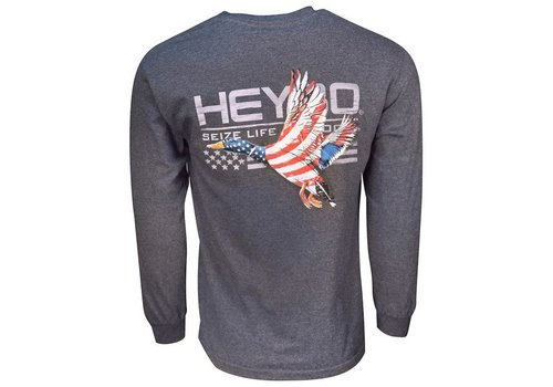 Heybo HeyBo Patriotic Duck Charcoal Heather