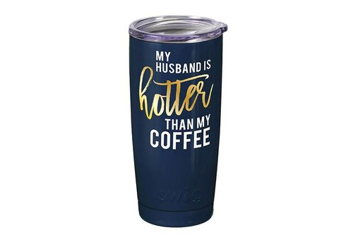 Swig Swig 20oz Tumbler Husband Navy