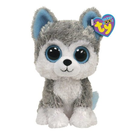Slush the Huskey Beanie Boo 6""