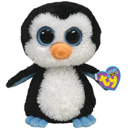 Waddles the Penguin Owl Beanie Boo 6""