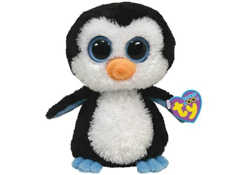 Ty Waddles the Penguin Owl Beanie Boo 6""