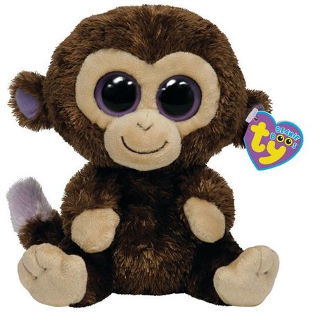 Coconut the Monkey Beanie Boo 6""