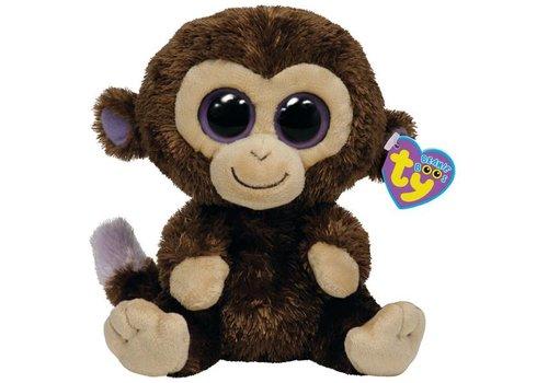 "Ty Coconut the Monkey Beanie Boo 6"""