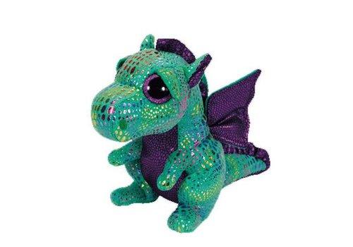 "Ty Cinders the Dragon Beanie Boo 6"""