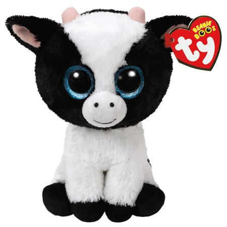 Butter the Cow Beanie Boo Regular 6""