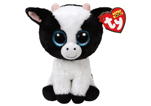 "Ty Butter the Cow Beanie Boo Regular 6"""
