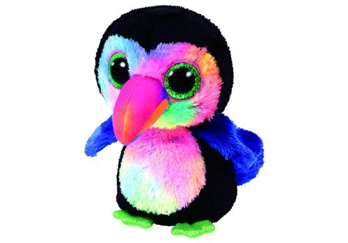 Ty Beaks the Toucan Beanie Boo Regular 6""