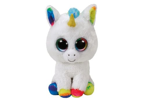 Ty Pixy the Unicorn Beanie Boo 8.5""
