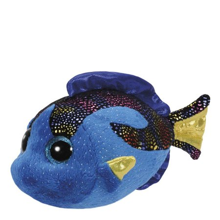 Aqua the Blue Fish Beanie Boo Regular 6""