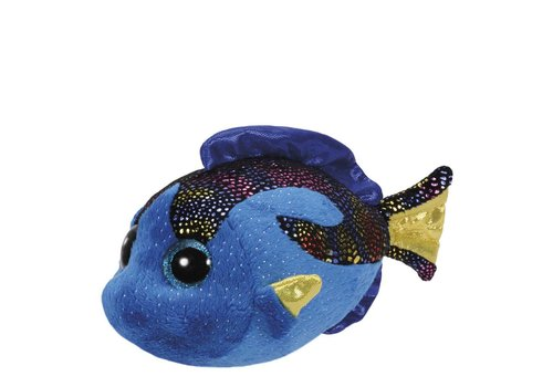 Ty Aqua the Blue Fish Beanie Boo Regular 6""
