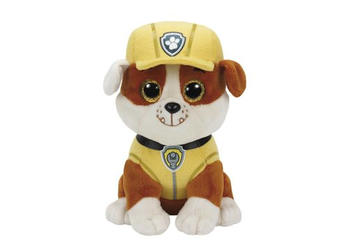 Ty Paw Patrol Rubble Beanies Plush