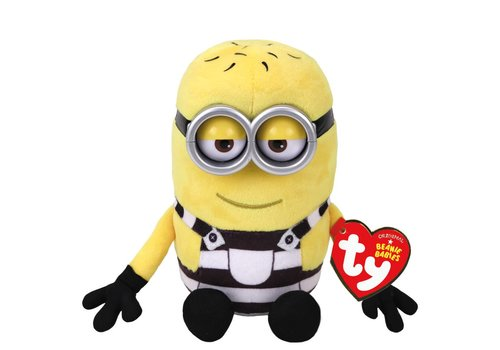 Ty Minions Tom Beanies Plush