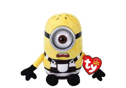 Ty Minions Carl Beanies Plush
