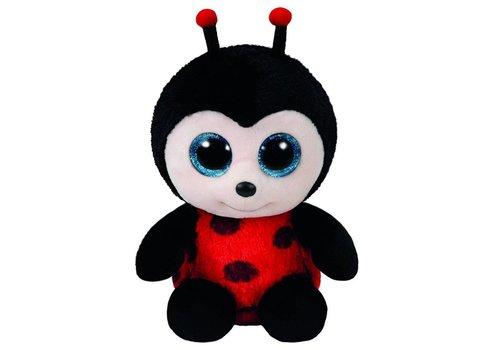 """Ty Izzy the Ladybug Beanie Boo 6"""""""
