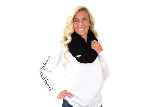 Simply Southern Simply Southern Scarf Black