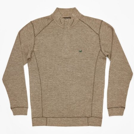 Southern Marsh Front Range Pullover Stone Brown