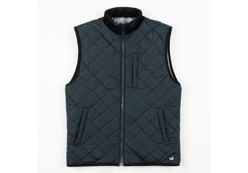 Southern Marsh Southern Marsh Perry Quilted Vest Navy