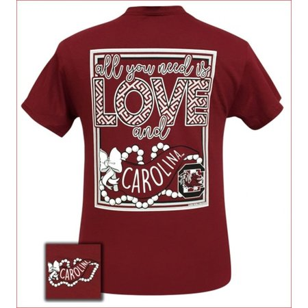 Girlie Girl All You Need Is Love and USC Cardinal