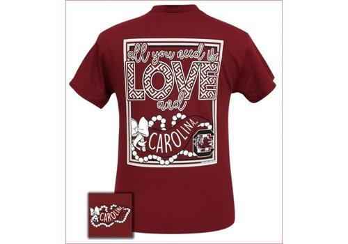 Girlie Girl Girlie Girl All You Need Is Love and USC Cardinal