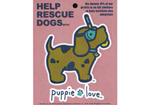 Puppie Love Puppie Love Scuba Doo Pup Decal