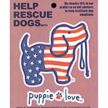 USA Pup Decal
