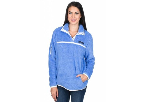 Lauren James Lauren James Aspen Pullover Polar Blue