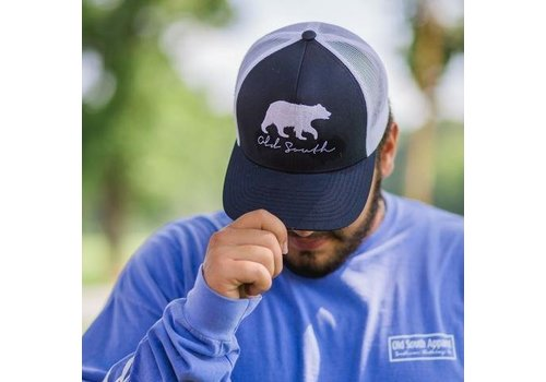 Old South Old South Bear Hat Navy