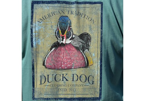 Duck Dog Duck Dog Classic Woody Long Sleeve Sage