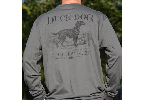 Duck Dog Duck Dog Southern Bred Long Sleeve Charcoal