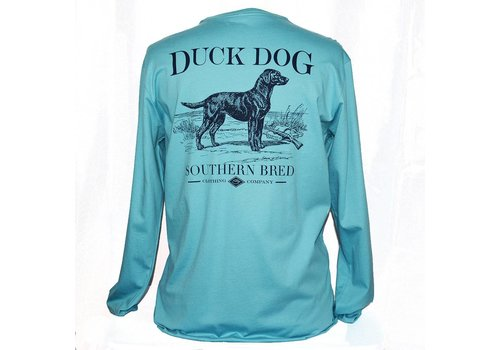 Duck Dog Duck Dog Southern Bred Long Sleeve Sea Glass