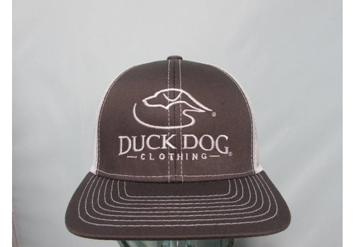 Duck Dog Duck Dog Logo Trucker Hat Charcoal