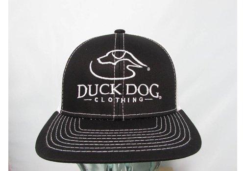 Duck Dog Duck Dog Logo Trucker Hat Black